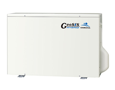 ジオシス・ハイブリッド冷温水システム